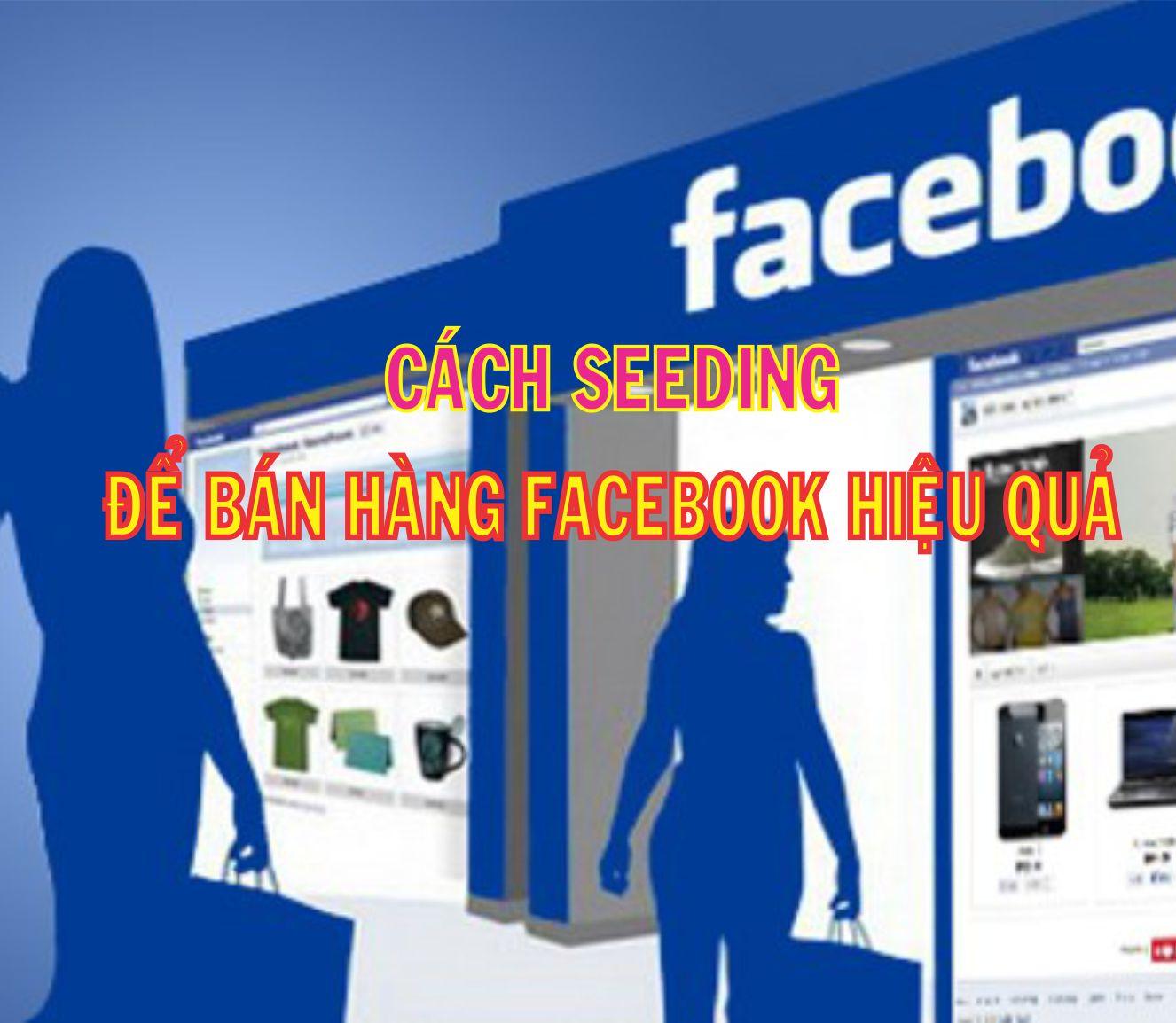 seedig facebook hiệu quả